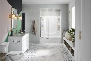 clean bathroom  - home inspection miami