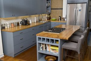 wooden kitchen top and table - home inspection miami