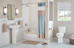 small neat bathroom - home inspection miami