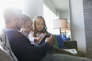 happy family at home - home inspection miami